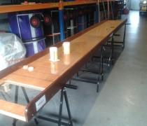 Bierpul schuiven 5 mtr.
