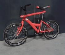 Bewegend zadel fiets